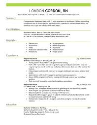choose nurse resume examples