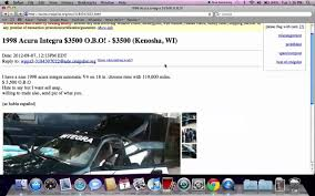 Craigslist Kenosha Craigslist Kenosha Wisconsin Used Cars Vans and Trucks FSBO Cheap 1