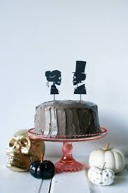 Diy Skeleton Silhouette Cake Toppers