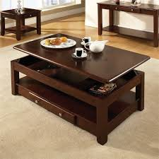 steve silver nelson lift top coffee table in cherry nlclc