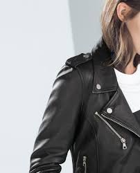 leather biker jacket collection trf collection ss15 zara united states