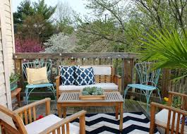 how to decorate a small patio angi