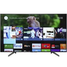 Android Tivi Sony 4K 55 inch KD-55X8000G X-Reality™ PRO - Chính Hãng