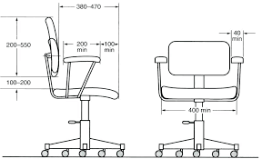 office chair guide. Office Furniture Sizes Dimensions Size Guide Chair