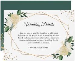 14 Wedding Reception Card Designs Templates Psd Ai Free