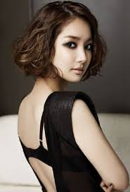 Short Asian Hair Style curly short hairstyles for asian women medium haircut 1479 by stevesalt.us