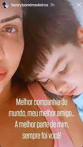 Me orgulho da mãe que me tornei', postou mãe de Henry Borel um dia antes de  ser presa   Rio de Janeiro