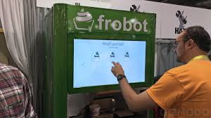 Froyo Vending Machine Cost Delectable We Need To Be Inventing More Robots That Serve Humans Delicious
