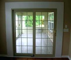 72 X 80 Sliding Patio Door Center Hinged Doors Exterior The