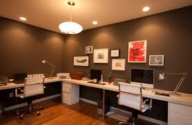 home office colors. Home Office Color Ideas View In Gallery Clean And Elegant Dark Colors Home Office Colors