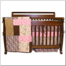 pink zebra crib bedding sets beds home design ideas