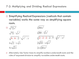 Simplifying Radical Expressions Worksheets - Checks Worksheet