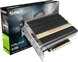 Представлена <b>видеокарта Palit GeForce GTX</b> 1650 KalmX с ...