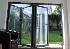 aluminium bi fold sliding patio door