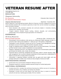 Gallery Of Military To Civilian Resume Free Resumes Tips Military