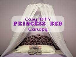 Diy Princess Canopy Bed - E-Creative