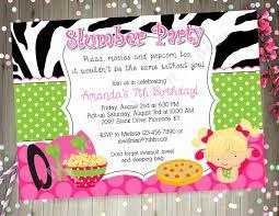 sleepover template blank party invitation templates elegant 18 beautiful sleepover