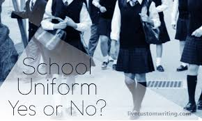 school uniform essay yes or no