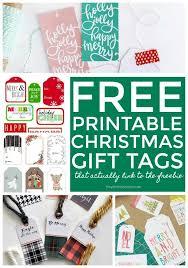 Lots Of Free Printable Christmas Gift Tags