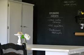 Office Chalkboard How To Make A Chalkboard Wall In Your Home Office Craft Room Hometalk