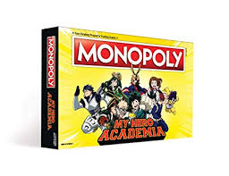 Monopoly My Hero Academia Board Game | Themed ... - Amazon.com