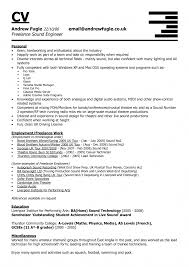 Audio Engineering Invoice Template Hvac Technician Resume Examples