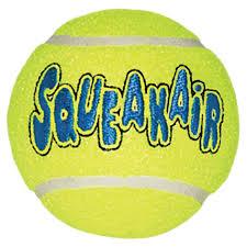 <b>Игрушка KONG</b> AIRDOG SQUEAKAIR <b>BALL</b> для собак, 6,4x6,4x6,4 ...
