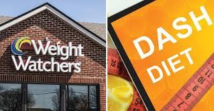 weight watchers and dash t signs side by side