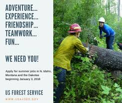 Summer Seasonal Jobs Nez Perce Clearwater National Forests Home