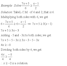 solving inequations v middle high school algebra geometry  directions solve the following inequality also write at least ten examples of your own
