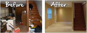 Finished Basement Ideas Before And After talentneedscom
