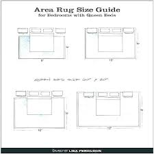 area rug placement queen bed under for simple size master bedroom what to put r