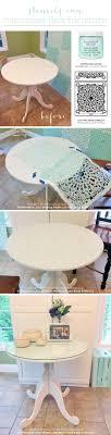 cutting edge furniture. Cutting Edge Stencils Shares A DIY Stenciled Ikea Table Using The Stephanie\u0027s Lace Stencil, Furniture