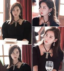 this scene was filmed at a restaurant in the yongsan district when seohyun appeared in this outfit that was diffe from her cal looks in the past