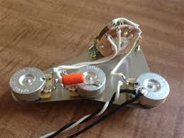 electronic wiring harness upgrade for fender stratocaster cts pot alternative views