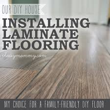 installing laminate flooring. Installing Laminate Flooring By The DIY Mommy. (Allen + Roth Provence Oak From W