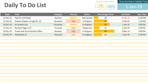 Microsoft Excel To Do List Template To Do List Template Xls