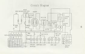 gy6 wiring diagram with color chart