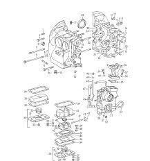 porsche 356 356b 356c parts 1600 sc crankcase