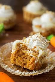 Mini Carrot Cake Cheesecakes Life Made Simple