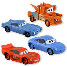 lightning mcqueen and mater and sally. Fine Mcqueen Disney Cars Set Of 4 Figurines Lightning McQueen Sally Mater U0026 Finn In Lightning Mcqueen And Sally Y