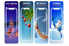 best christmas live wallpapers for