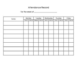 attandence sheet daycare sign in sign out sheet easy way to keep track of attendance