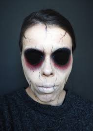 easy zombie makeup for