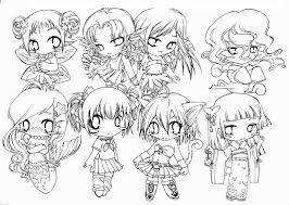 Small Picture Coloring Pages Of Anime Characters 12797