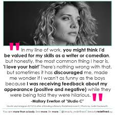 Beauty Redefined Quotes Best Of Studio C's Mallory Everton Frankly Discusses Beauty And Health With
