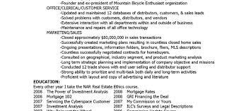 Real Estate Resume Cover Letter October 100's Archives Realtor Resume Resume Print Out Resume 99
