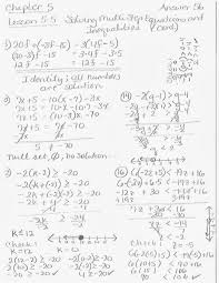 lesson 5 5 solving multistep equations and inequalities
