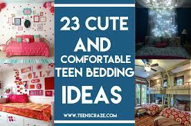 23 cute and comforting teen bedding ideas 1024x676 teenage
