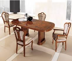 dining room tables oval. MCS Pamela Walnut Oval Table With Extension Dining Room Tables F
